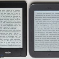 Kindle Paperwhite vs Nook Touch with GlowLight