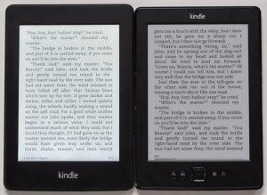 Kindle Paperwhite vs Basic $69 Kindle