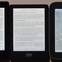 Kindle, Kobo, Nook frontlights