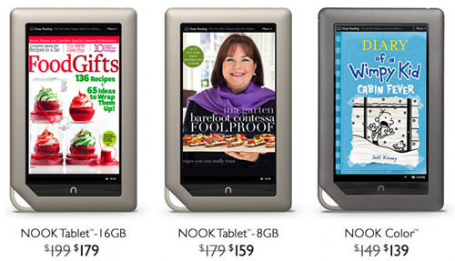 Nook Price Drops