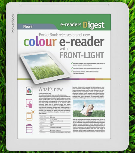 PocketBook Color Frontlight eReader