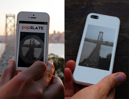 Popslate E Ink iPhone Case