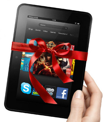 Kindle Fire HD Christmas