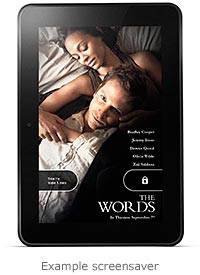 Kindle Fire Screensaver Ad