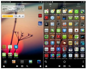 Go Launcher on Kindle Fire HD