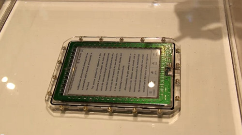 Waterproof eBook Reader