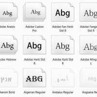 eBook Fonts