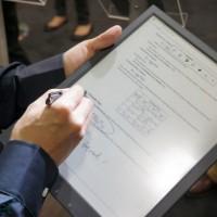Sony's New 13.3 E Ink PDF Reader Protoype