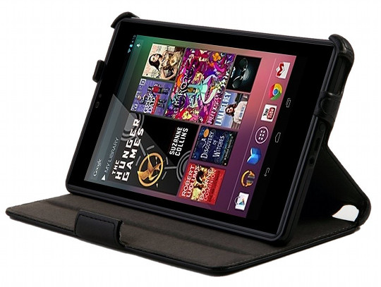 KAYSCASE BookShell Case Cover for New Nexus 7