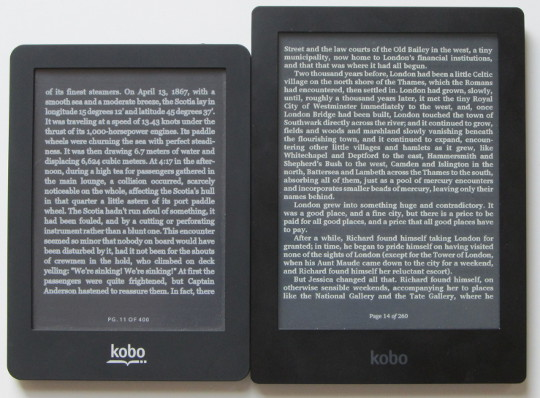 How to Enable Night Mode (White Text, Black Background) on Kobo ...