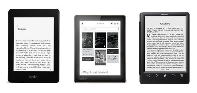 ebook readers: