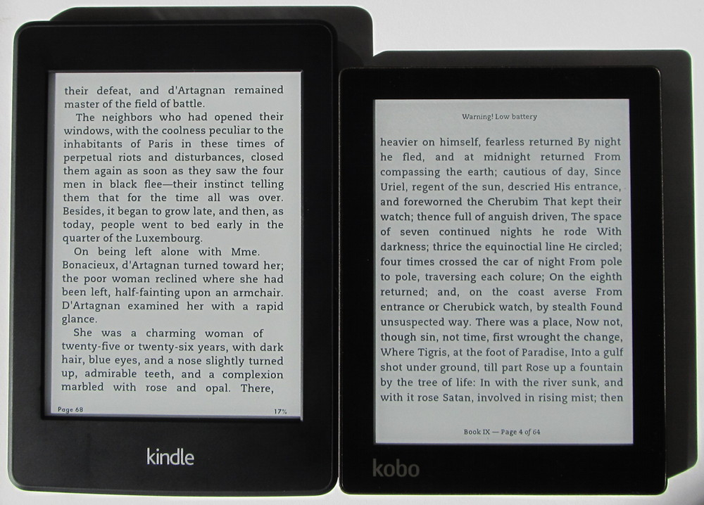 The Kindle Paperwhite 2 and Kobo Aura are the latest ebook readers