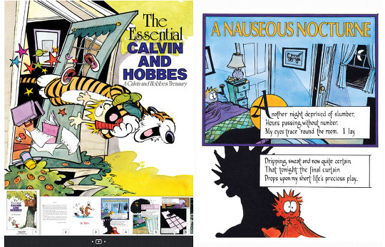 Calvin and Hobbes Comic Strips Now Available as eBooks | The