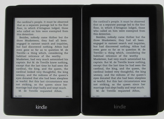 Kindle Paperwhite 2 vs Paperwhite 1 Comparison