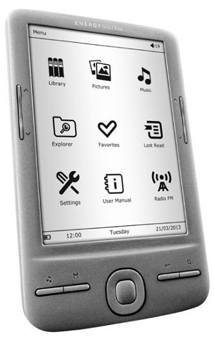 Energy eReader E4 Mini
