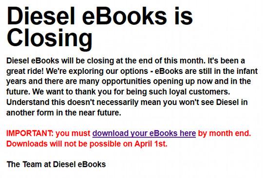 diesel-closing
