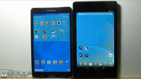 Nexus 7 2nd Gen vs Samsung Galaxy Tab 4