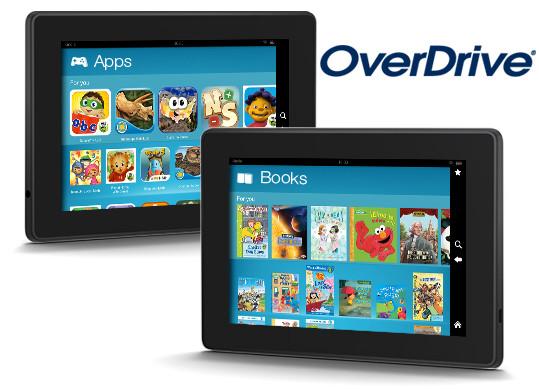 OverDrive Kindle FreeTime