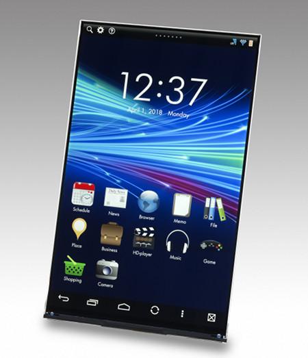 WhiteMagic Tablet Display