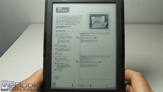 Onyx boox t68 lynx pdf review video the ebook reader blog onyx boox t68 pdf review fandeluxe Choice Image