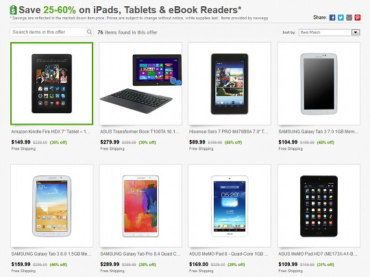Tablet Sale