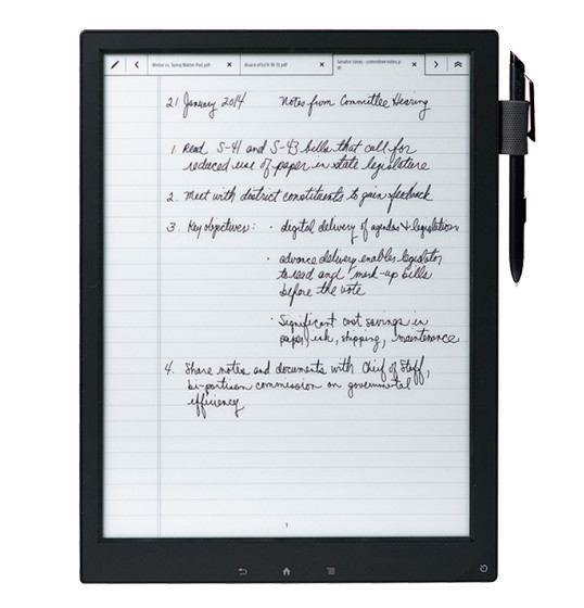 DPT-S1 Digital Paper PDF Reader