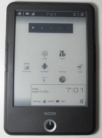 Best android e ink ebook readers android ereaders list the onyx boox t68 tips fandeluxe Gallery