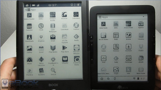 Onyx Boox T68 vs Icarus Illumina HD