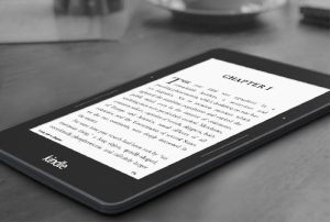 Kindle Voyage Side