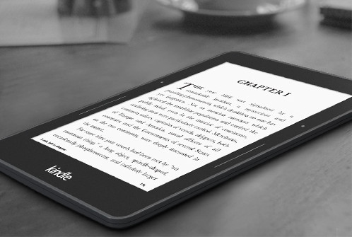 Kindle Voyage Side