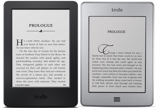 New Kindle vs Kindle Touch