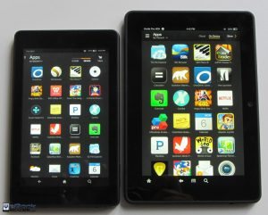 Fire HD 6 vs Fire HDX