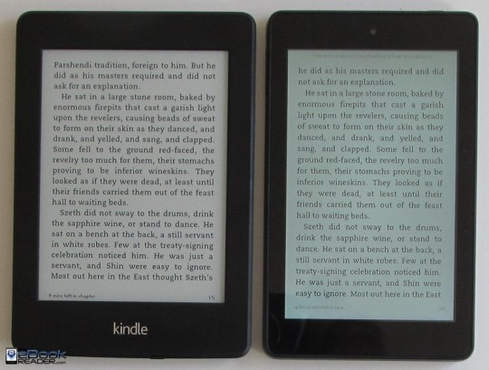 Kindle Paperwhite vs Fire HD 6