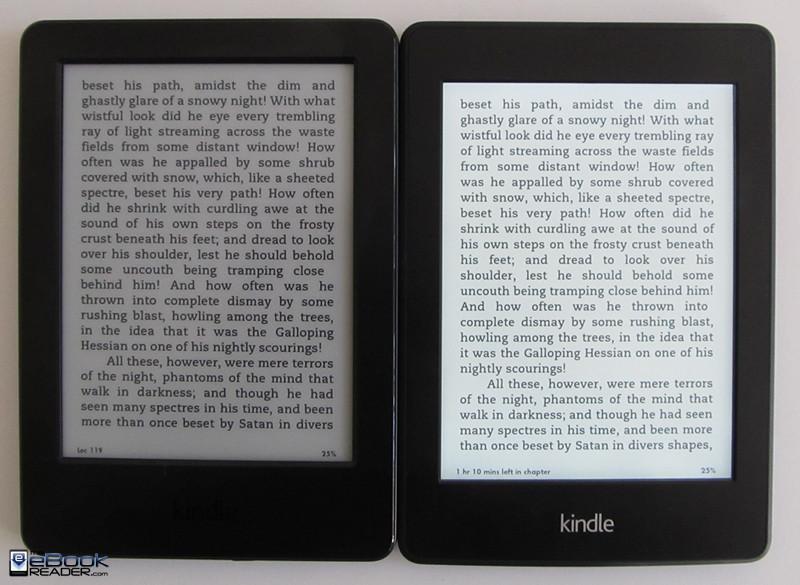 Kindle Paperwhite vs new $79 Basic Kindle Comparison ...