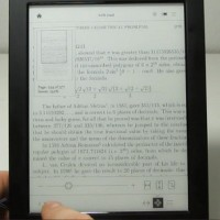 Kobo Aura H2O PDF Review