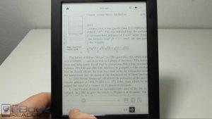 Kobo Aura H2O PDF Review