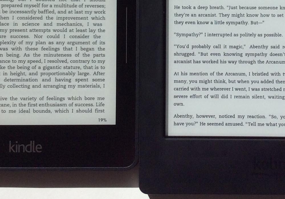 Kindle Voyage vs Kobo Aura H2O Comparison Review (+Video