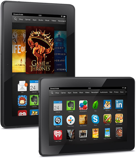 how to  ebooks to kindle fire hdx