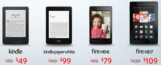 Kindle Fire Black Friday Sale