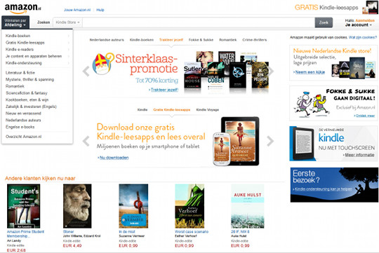 Kindle Netherlands