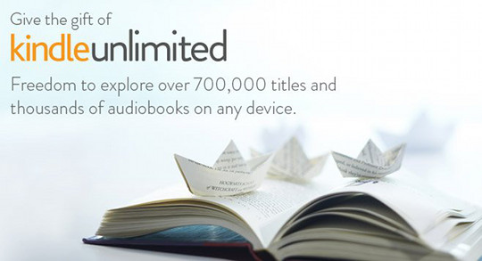 kindle unlimited gift