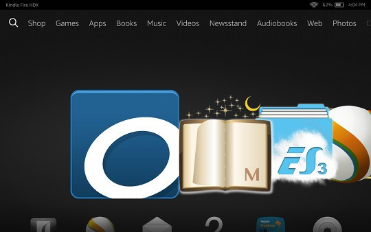 Fire HDX ePub apps