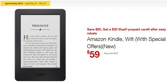 Staples Kindle Deal
