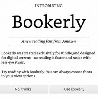 Bookerly Kindle Font