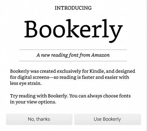 What is Your Favorite Kindle Font Type? | The eBook Reader Blog
