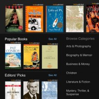 Kindle Book Browser iPad