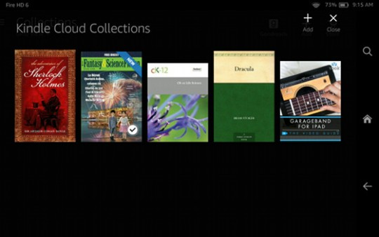 Kindle Cloud Collections