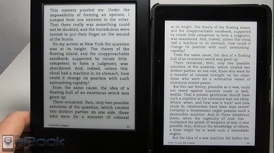 Kindle Voyage vs Kindle