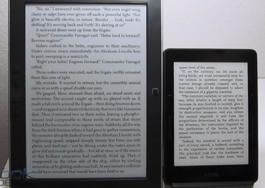 Kindle Voyage vs Onyx M96