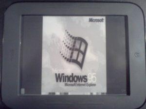 Nook Touch Windows 95
